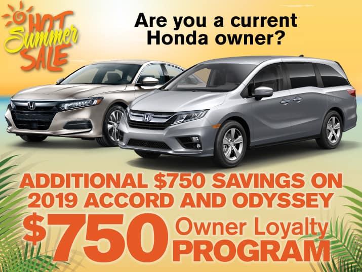 Honda Loyalty Program