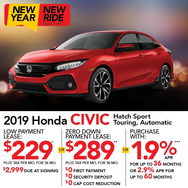civic hatch specials
