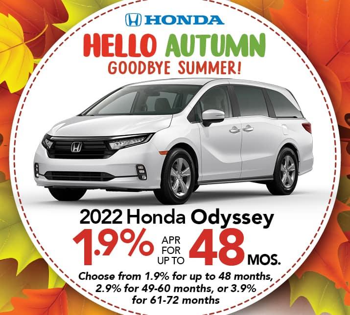 Honda Odyssey APR special