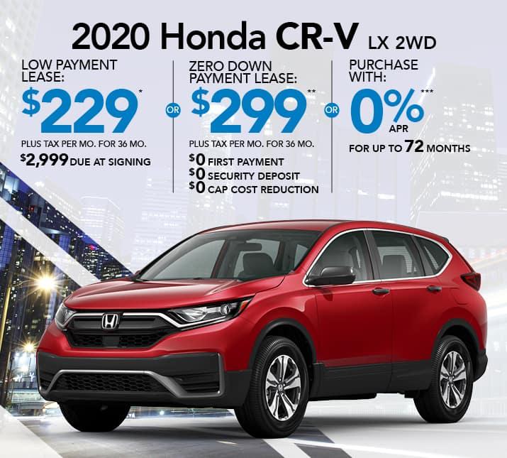 CR-V specials