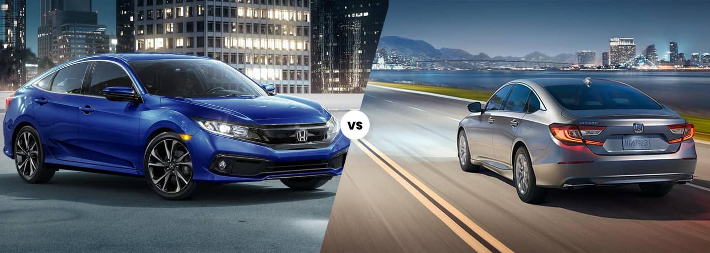 2020 Honda Civic vs. 2020 Honda Accord