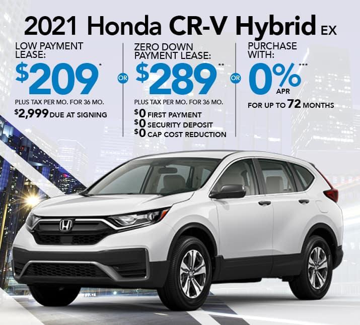CRV Hybrid specials