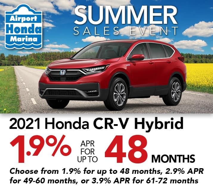 CR-V Hybrid specials
