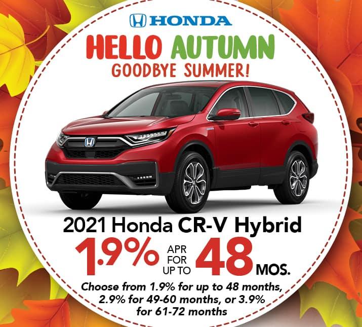 Honda CR-V Hybrid APR special