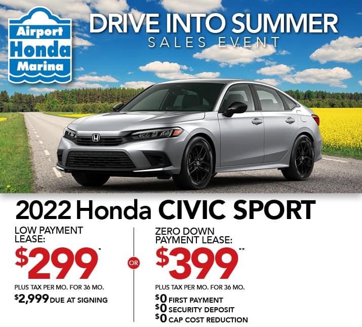 Civic Sport Specials
