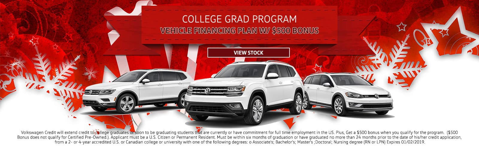 AuburnVW_Holiday_College Grad Program