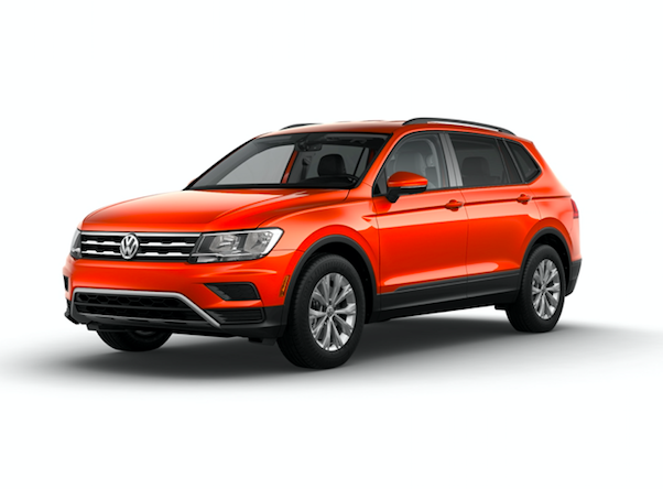 2019 Volkswagen Tiguan LWB S 4Motion