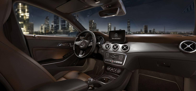 2017 Mercedes CLA Interior