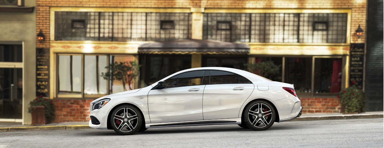 2017 Mercedes-Benz CLA 250 Coupe Exterior Design