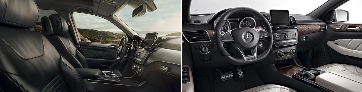 2017 Mercedes-Benz GLE SUV vs. Couple