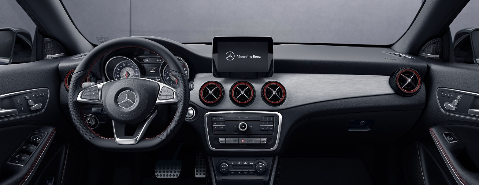 2017 Mercedes-Benz CLA 250 Coupe Interior Design
