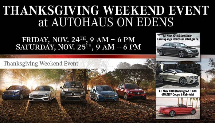 Thanksgiving Weekend Event