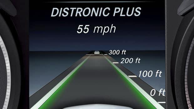 distronic plus with presafe brake