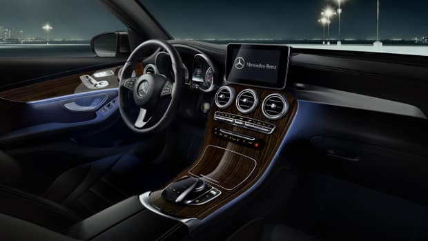 2018 mercedes-benz glc suv technology