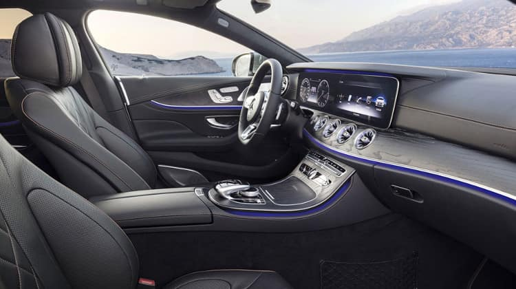 2019 mercedes-benz cls interior