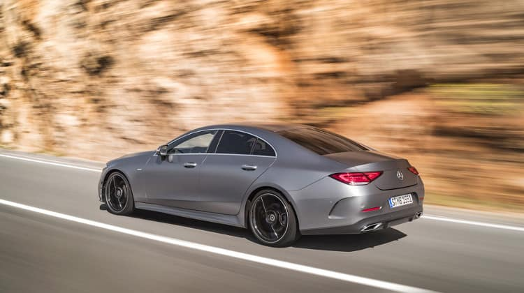 2019 mercedes-benz cls side view