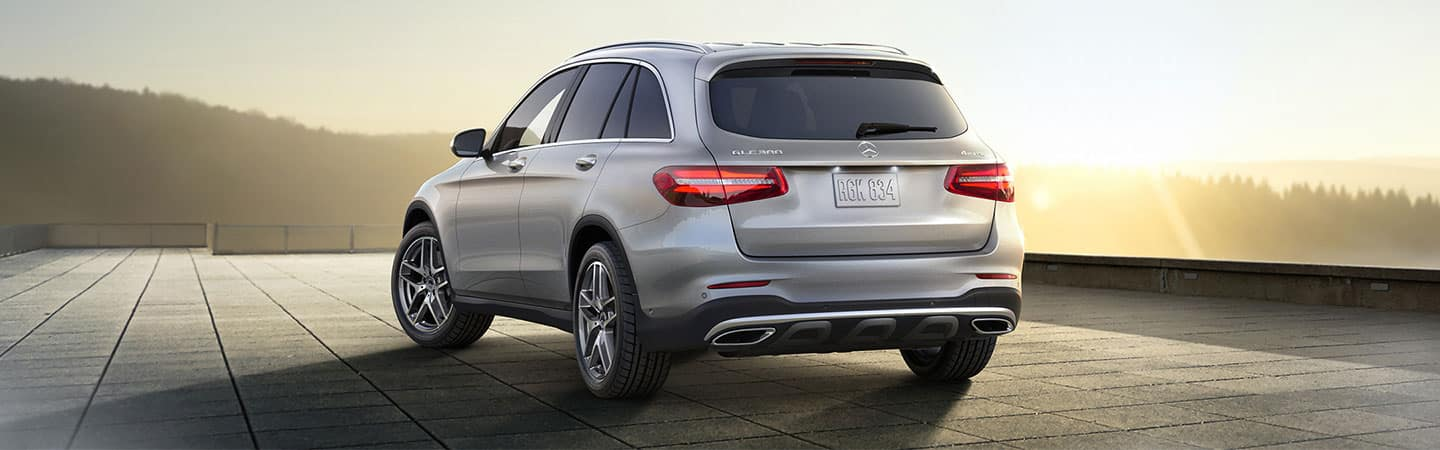 2018 Mercedes-Benz GLC 300 rear exterior image