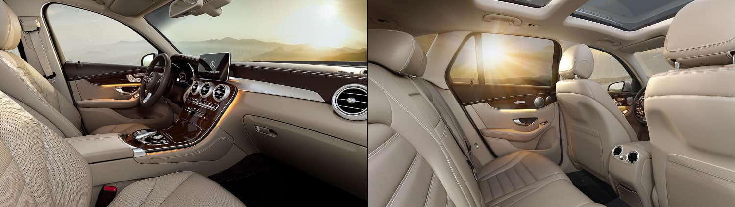 2018 Mercedes-Benz GLC SUV Interior
