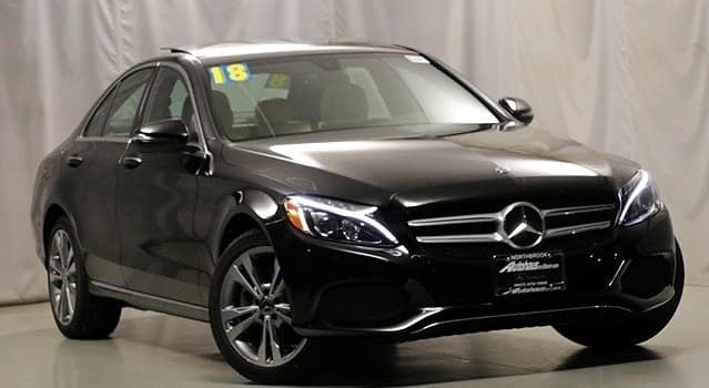 Pre-Owned 2018 Mercedes-Benz C 300 4MATIC® Sedan