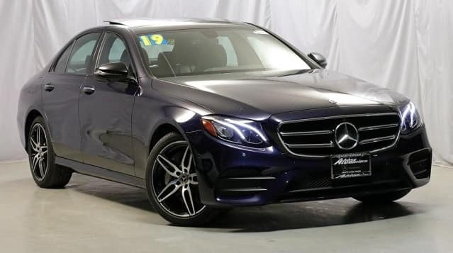 2019 Mercedes-Benz E 300 4MATIC® Sedan Retired Courtesy Vehicle