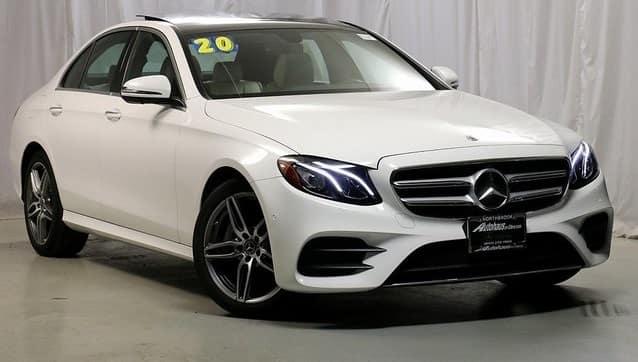 2020 Mercedes-Benz E 350 4MATIC® Sedan Retired Courtesy Vehicle
