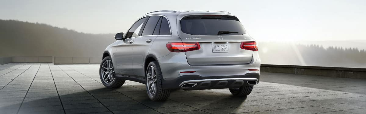 2019 Mercedes-Benz GLC SUV rear view