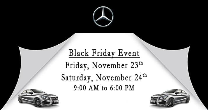 Mercedes-Benz Black Friday Event