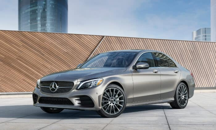 2019 Mercedes-Benz C-Class outside city