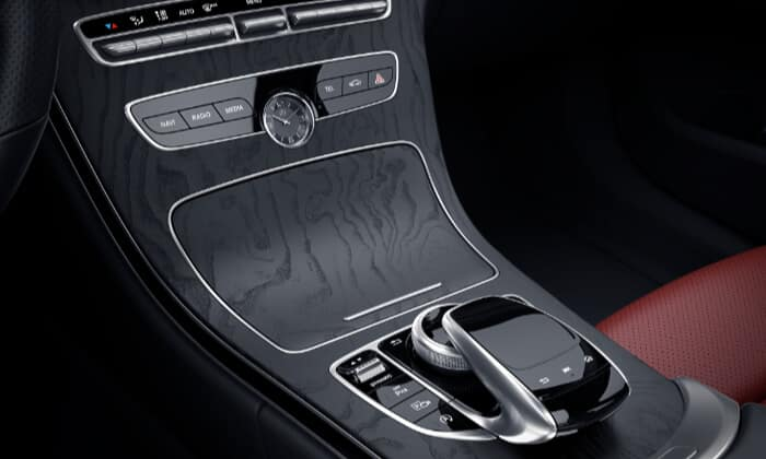 2019 Mercedes-Benz C-Class Interior center console