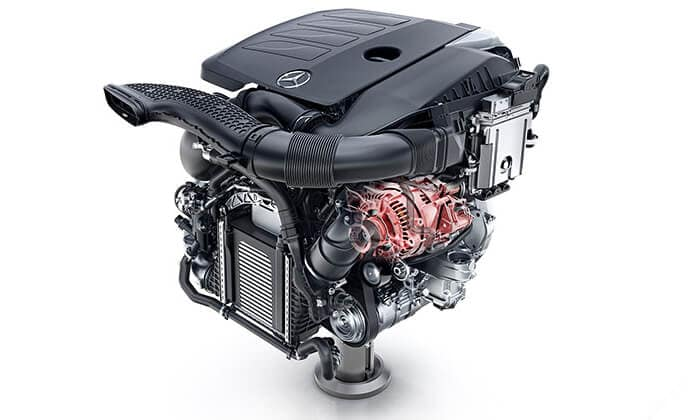 2019 Mercedes-Benz C-Class engine