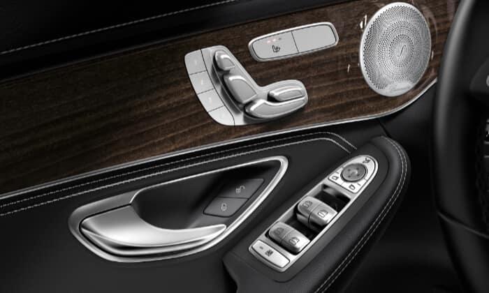 2019 Mercedes-Benz GLC Comfort Controls