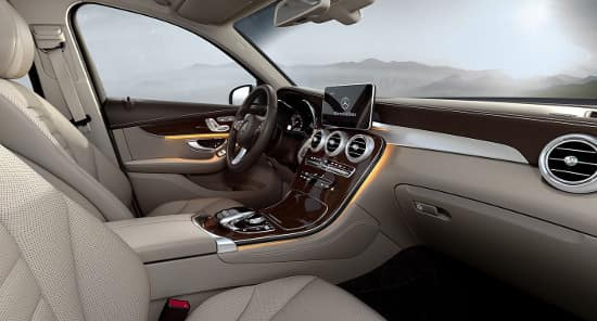 2019 Mercedes-Benz GLC SUV Interior