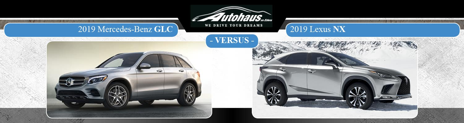 2019 Mercedes-Benz GLC vs. Lexus NX