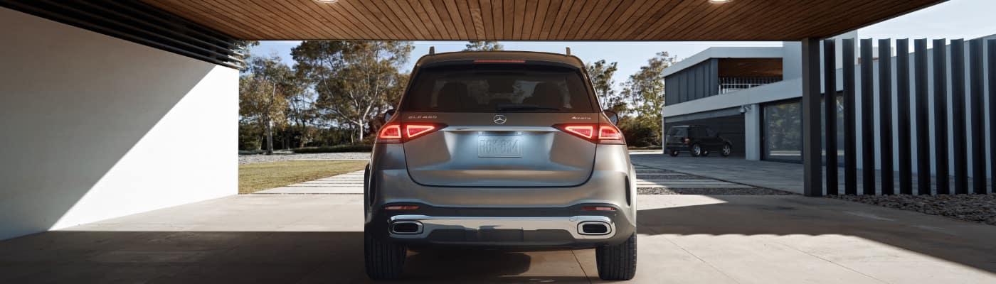 2020 Mercedes-Benz GLE in garage