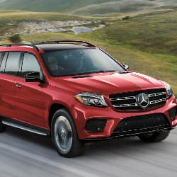 2019 Mercedes-Benz GLS cargo