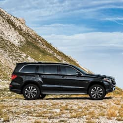 2019 Mercedes-Benz GLS on hill