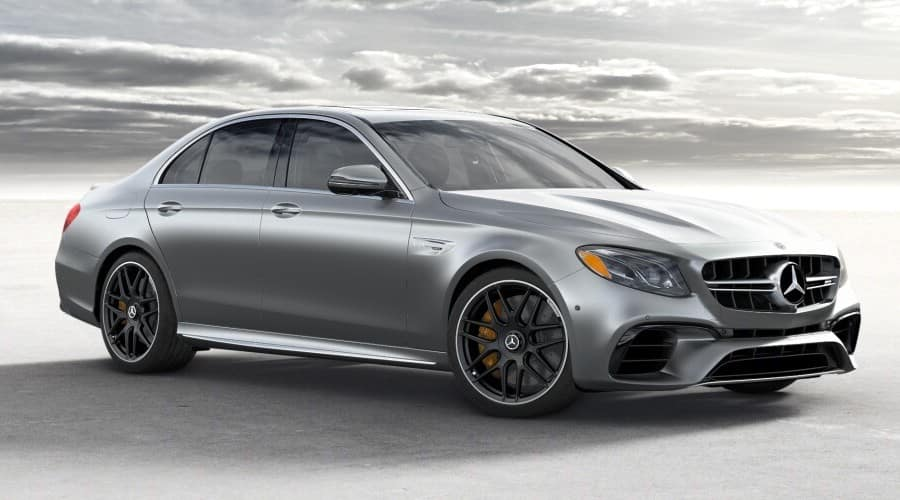 2019 grey Mercedes-Benz AMG E63S