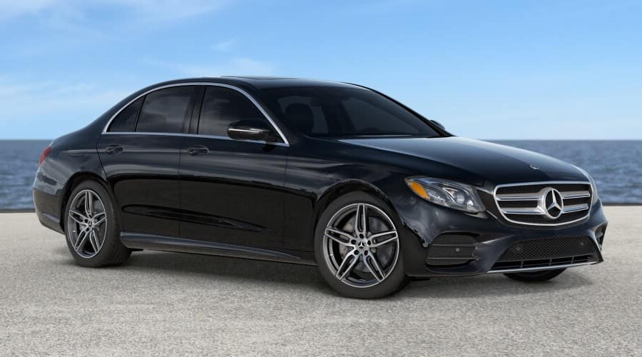 2019 black Mercedes-Benz E300Sedan