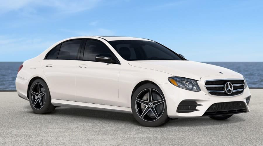 2019 pearl white Mercedes-Benz E45 4MATIC® sedan