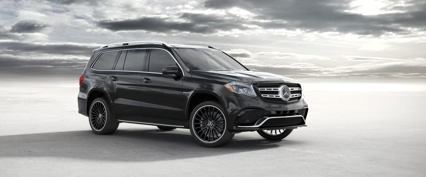 2020 black Mercedes-Benz GLS SUV