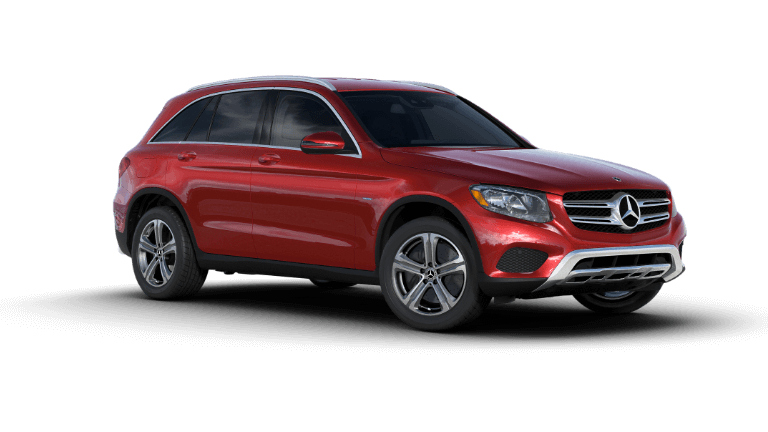 2019 Mercedes-Benz GLC SUV 350e 4MATIC - Designo Cardinal Red