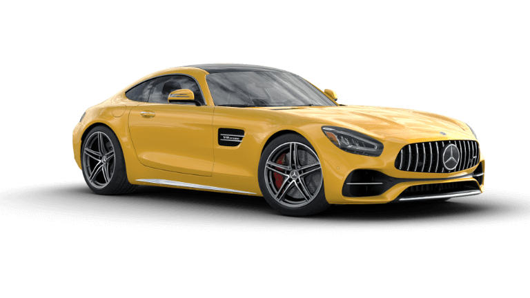 2020 Mercedes-Benz AMG GT C Coupe - Solarbeam Yellow