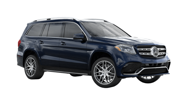 Lunar Blue 2020 Mercedes-Benz GLS