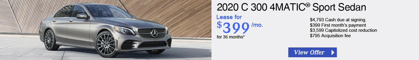 2020 Mercedes-Benz C 300 Lease Offer