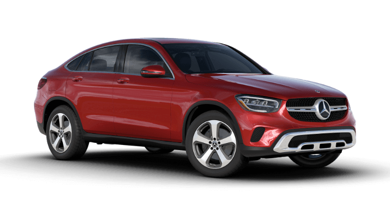2020 GLC 300 4MATIC Coupe - Cardinal Red