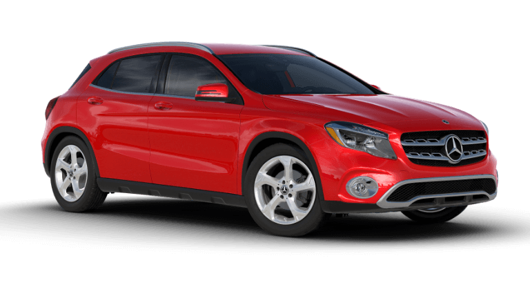 2020 Mercedes-Benz GLA SUV 250 - Jupiter Red