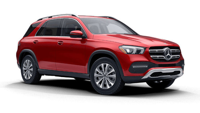 2020 Mercedes-Benz GLE 350 4MATIC SUV - designo Cardinal Red