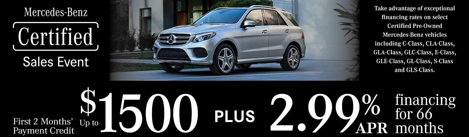 Mercedes-Benz PreOwned Lease Special