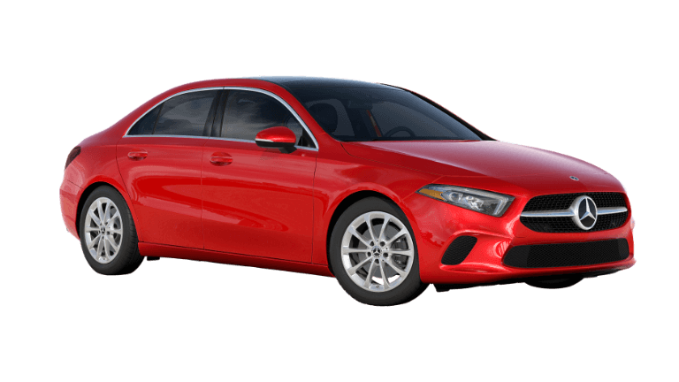 2020 Mercedes-Benz A-Class Sedan - Red