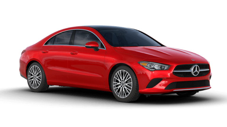 2020 Mercedes-Benz CLA Coupe - Red